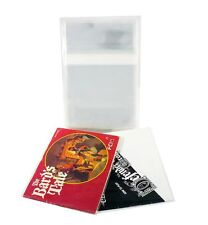 25 Video Game Manual Bags for NES Sized Manuals, Polypropylene