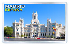 MADRID SPAIN MOD2 FRIDGE MAGNET SOUVENIR IMAN NEVERA