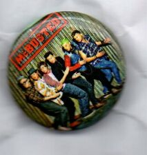 McBUSTED BUTTON BADGE UK Pop Rock Supergroup  McFly / Busted Hate Your Guts 25mm