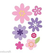 Sizzix Thinlits Cutting Die Stencil Emboss 11pc FLOWER LAYERS & LEAF 660146