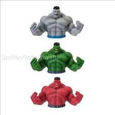 Marvel AVENGERS SDCC Exclusive 3pc Incredible HULK GREEN GREY RED Bust BANK Set