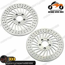 "11.8"" Front Brake Disc Rotors HARLEY TOURING FLH/T/R/X Road King Electra Glide"