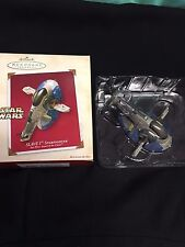 Hallmark Keepsake Star Wars Slave I 1 one Starfighter Ornament Attack of Clones