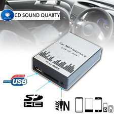 Car CD USB SD MP3 Player Aux Interface In Adapter For Fiat Lancia Alfa Romeo