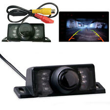 7 LED Waterproof Wide Car Rear View Reverse Backup Cmos Camera Night Vision Kit