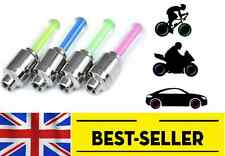 4 pcs LED Bike Car Motorcycle Wheel Tyre light -  Valve Cap Flash - UK STOCK