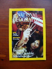 National Geographic magazine May 2004 Hanoi / Europe / Maya