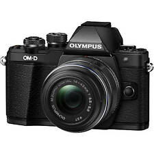 Olympus E-M10 Mark II (Black) With 14-42mm EZ Lens Kit + 8GB + Bag