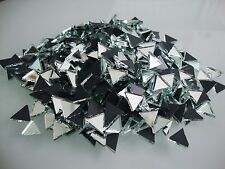 Mosaic Triangular Silver Mirror Glass, Art & Craft  (Approx, 10 mm),  250 pcs,