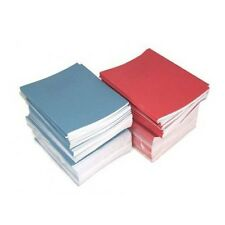4 x SCHOOL EXERCISE BOOKS TOP HALF of PAGE BLANK/BOTTOM 15mm LINES A5