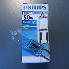 10 X Philips 50W 12V GY6.35 HALOGEN BULB Light Lamp