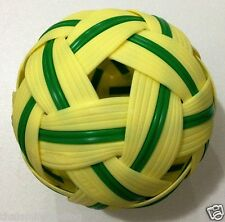 SEPAK TAKRAW BALL KICK VOLLEYBALL KUNG FU RATTAN THAI SPORT TAKRO COLLECTIBLE