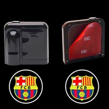 FCB Wireless Courtesy Car LED Door Projector Ghost Shadow Lights for Barcelona