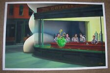 GHOSTBUSTERS movie poster print NIGHTBUSTERS STAY PUFT Hopper Casey Callendar