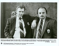 DAVID CARUSO DENNIS FRANZ PORTRAIT NYPD BLUE ORIGINAL 1993 ABC TV PHOTO