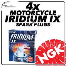 4x NGK Iridium IX Spark Plugs for MV AGUSTA 921cc Brutale 920 04/11-  #3521