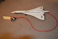 VINTAGE SANCHIS  CONCORDE BATTERY OPERATED TOY.