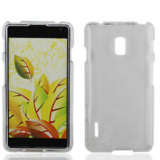 For LG Optimus F7 US780 HARD Protector Case Snap On Phone Cover Crystal Clear