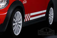 Genuine 3M vinyl Mini Monte Carlo style side stripes - OEM quality decals