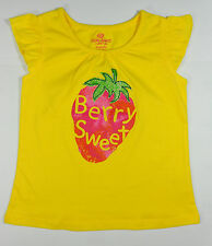 NWT Baby Girl Strawberry Top Okie Dokie 18M