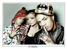 FAZER N-Dubz SIGNED Autograph Hugh 16x12 Photo Rapper Richard RAWSON AFTAL COA