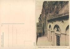 CASTEL S. ELIA (VT) - PROSPETTO DELLA GROTTA DI S.M. AD RUPES      (rif.fg.4167)