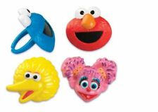 Sesame Street cupcake rings (24) party favor cake topper 2 dozen Big Bird Elmo