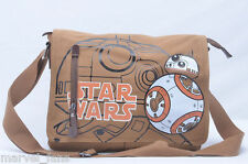 Hot Sell Star Wars BB 8 Double Button Canvas Shoulder Messenger Bag