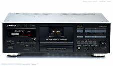 PIONEER CT-S910 High-End Cassette Tape Deck!! 1A-Zustan! Revidiert+1J.Garantie!