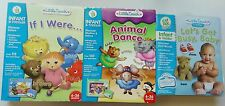 LeapFrog little touch infant toddler bundle lot of three book & cartridge