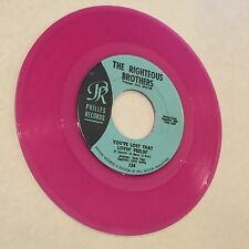 Pink Vinyl 45 RIGHTEOUS BROTHERS You've Lost Lovin' Feelin' PHILLIES RECORDS 124