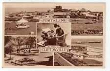 POSTCARD - JUST A LINE FROM CLIFTONVILLE