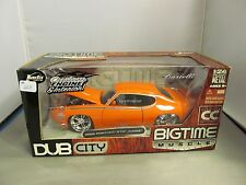 JADA 1/24 COLLECTORS CLUB BIGTIME MUSCLE ORANGE 1969 PONTIAC GTO JUDGE *READ*
