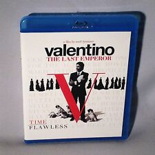 BLU-RAY VALENTINO THE LAST EMPEROR NEAR MINT