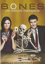 Bones The Complete Third Season 3 Three Series DVD TV Show Thriller Episode Box