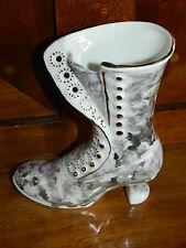 JAECK handgemacht CHAUSSURE PORCELAINE ART shoe PORCELAIN schuh Porzellan BOOT