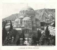 1917 A Church At Tiflis Caucasus