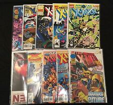 10 VF to VFNM UNCANNY X-MEN Annuals
