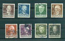 (WEST) GERMANY BERLIN 1952/1953 Famous Beliners