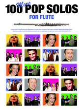 100 More Pop Solos for Flute Sheet Music Book *NEW*