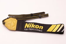 [Near Mint! Rare!] Nikon Neck Strap for Professional from Japan