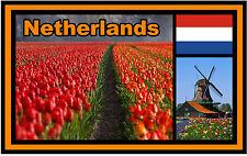 NETHERLANDS - SOUVENIR NOVELTY FRIDGE MAGNET - NEW - GIFT