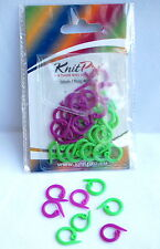 Knitpro Split Ring Stitch Markers Pack of 30 - Two Colours