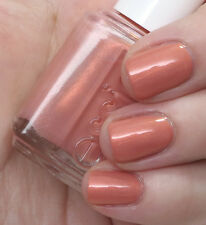 NEW Essie nail polish lacquer in OH BEHAVE! ~ Minx peach frost