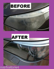 headlight restoration kit HEADLIGHT RESTORATION KIT CLEANER RENEWER