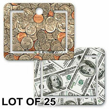 Dollars Coins Money Bookmark Page ClipLenticular Flip Lot of 25 #PM01-952-S25#
