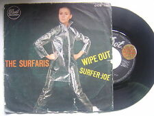 THE SURFARIS wipe out / surfer joe SPANISH PROMO 45 DOT 1966