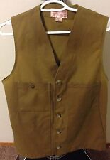 Filson Oil Tin Cloth Vest NO. 11010265