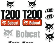 (ORIGINAL LOOK) BOBCAT T200 FULL DECAL STICKER SET KIT SKID STEER TG48