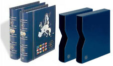 Vista album numismatique euro Set-volumes n ° 1 et nº 2, y compris matching slipcases